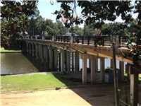 Cane River Bridge in downtown Natchitoches