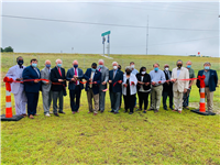 I-20/Tarbutton Road Interchange project ribbon cutting ceremony, June 2020