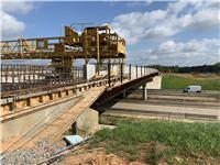 I-20/Tarbutton Road Interchange under construction