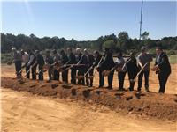 I-20/Tarbutton Rd. Interchange Project Groundbreaking, Oct. 2017