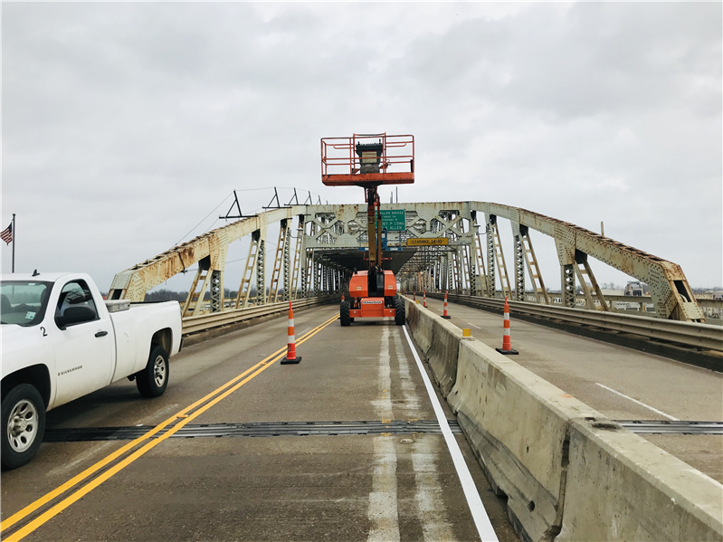 Texas Street Bridge (US 80) rehabilitation project