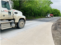 US 79 overlay and tree removal project