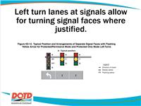 LA 840-6 lane configuration