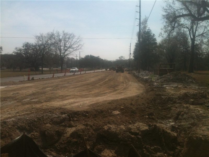 Roadbase preparation March 2013.