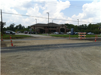 Pictured is the new Crossing at St. Elizabeth Medical Plaza soon to be paved with aspalt.  Other construction sites almost completed are crossovers at Charlotte Street, Waterford Lake, Essay Melancon Road, and crossings at Prairie Oaks, and Overland Trails.