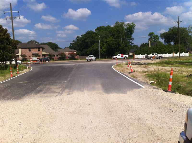 A new crossing at Easley Melancon Rd.