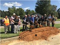 LA 616 (Arkansas Rd) widening & roundabouts groundbreaking