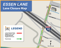 Graphic-Green Light lane closure 082115