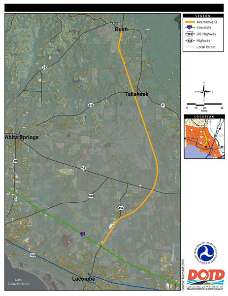 LA 3241: General Site Location
