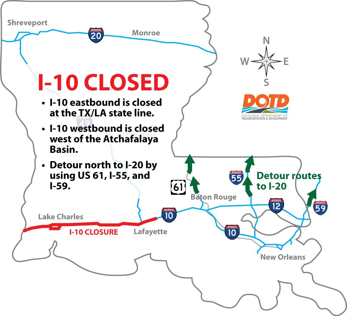 I-10 closure